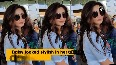 Check out Daisy Shah's HOT airport look!