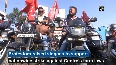 Bike rally organised in support of 'Bharat Bandh' in Ranchi