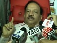dr harsh vardhan video