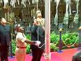 Chief Ministers of WB Chhattisgarh & Maharashtra hoist national flag on 69th I-Day