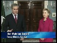 Clinton and Qureshi upbeat about trilateral talks