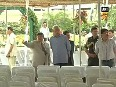 Jammu Governor inspects arrangements at Raj Bhawan for Mehbooba s oath-taking ceremony