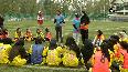 First female football academy opens in Srinagar