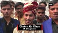 Bridegroom reaches marriage ceremony in helicopter
