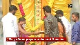 Devotees offer prayers to 40-ft tall Khairatabad Ganesh in H'bad
