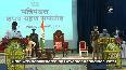 BJP MLAs Tulsi Silawat, Govind Singh Rajput take oath as MP cabinet ministers.mp4