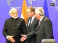 PM Modi arrives at India-EU Summit