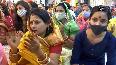 Watch Devotees perform Bhajan-Kirtan at Chhattarpur Temple in Delhi