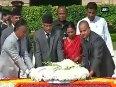 Nepal PM pays homage to Mahatma Gandhi at Rajghat