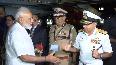 PM Modi arrives at Kochi airport in Kerala