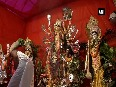 Devotees throng to temples on 8th day of Hindu goddess festival