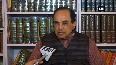 Swamy supports J&K Governors decision of dissolving assembly