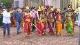 Goddess Chamundeshwari's idol reaches Mysore Palace from Chamundi Hills