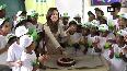 Watch Nushrat Bharucha celebrates birthday with kids