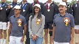 PV Sindhu attends closing ceremony of Annual Athletic Meet 2021