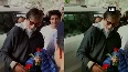 WATCH: Big B on his way to Manali, receives warm welcome