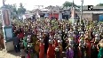 Viral video: Women in A'bad defy Covid norms to offer prayers