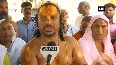 Swami Paramhans Das continues hunger strike over Ram temple construction