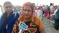 Sharad Purnima Devotees take holy dip in Triveni Sangam