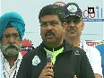 Dharmendra Pradhan urges people to cycle once a week to conserve fuel