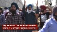 Sikh community in J-K holds funeral procession for slain principal