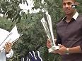 T20 World Cup trophies reach Kolkata