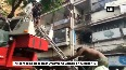 Trapped people rescued after fire at building in Mumbai