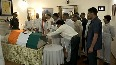 Politicos pay tribute to former PM Atal Bihari Vajpayee at his residence