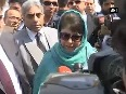 Not all youth in Valley indulge in stone pelting, says CM Mufti