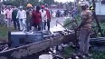Cyclone Yaas: Several houses damaged, trees uprooted in WB