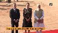 Danish PM Mette receives ceremonial reception at Rashtrapati Bhavan