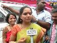K. Kavitha offers prayers as two-day annual Bonalu festival begins