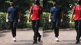 Watch: Evergreen Anil Kapoor out for walk at Mumbai park