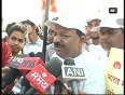 Health minister takes part in walkathon on world population day