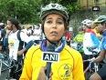 Mumbai participates in cycle marathon to promote jaipur foor for specially abled