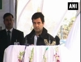 Rahul gandhi and kashmir chief lock horns over village council polls