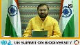 UN Biodiversity Summit India to restore 26mn hectares of deforested land by 2030, says Javadekar.mp4