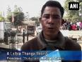 Bru families from mizoram take refuge in tripura