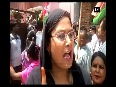 Madhesi protesters gheraoes Election Commission office in Birgunj