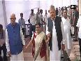 Sonia Gandhi, LK Advani, Manmohan Singh arrive to cast their vote for 14th President