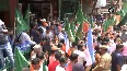 WB elections HM Shah holds roadshow in WB s Kalimpong