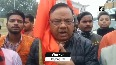 Bajrang Dal workers hold rally in Moradabad to collect funds for Ram Temple construction.mp4