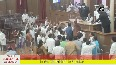 Opposition creates ruckus in Odisha Assembly over paddy procurement issues