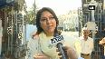 Priya Dutt visits Mount Mary Church before filing nomination