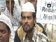 Muslim community protests, demands shelter for Rohingya refugees in India