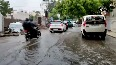 Continuous rainfall leads to water-logging in parts of Gujarats Rajkot.mp4