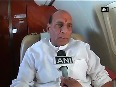 Whole country is united against terrorism Rajnath Singh on Kashmir situation