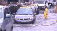 Mumbai rainfall Water entered inside Sakinaka Police Station, BMC workers help riders cross waterlogged roads