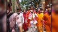 Himanta Biswa Sarma offers prayers at Kamakhya temple