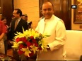 Narendra modi takes charge as prime minister of india